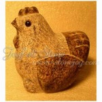KR-001hen, Granite hen figurines