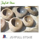 Natural stone water bowl