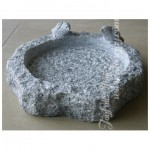 GBB-011, Grey granite birdbath