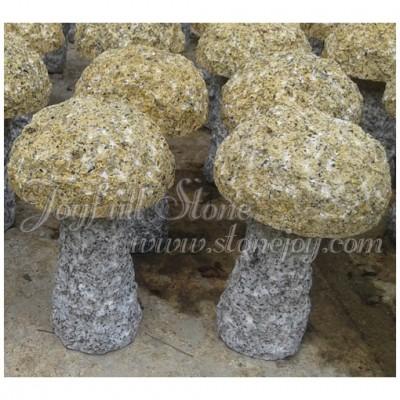 Granite Mushroom Ornaments