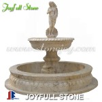 GFP-067, Statuary travertine fountain