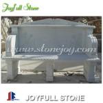 GT-384, Custom white  marble bench