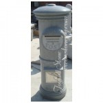 GM-002, Grey granite mailbox