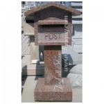 GM-031, Red granite mailbox