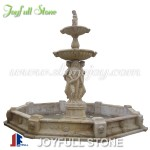 GFP-036, Marble fountain with four seasons statues