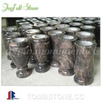 MA-301, Granite flower vases for tombstones