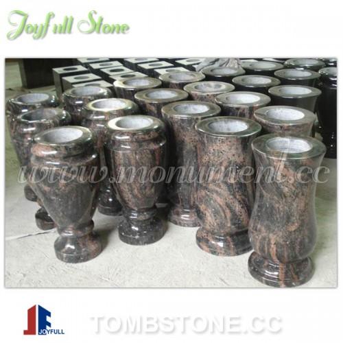 MA-301, Granite flower vases for tombstones