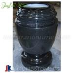 MA-301-2, Black Memorial Vase