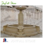 GFP-175,Outdoor carved sandstone fountain