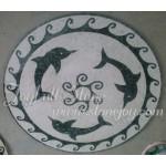 DM-130, Marble mosaic floor medallion