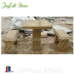 GT-550, Yellow sandstone furniture, table set