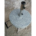 Granite patio umbrella Stand