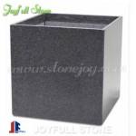 Granite square planters