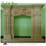 FM-005, Simple Marble Fireplace Surround