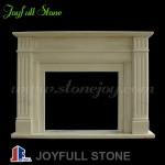 FM-203, Modern Indoor Used Free Standing Fireplace Mantel
