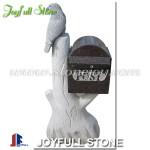 MG-063 Decorative granite stone letterbox