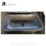 SI-732 Grey basalt Concrete look Stone Vessel Sinks