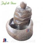 GFN-074, Boulder stone fountain