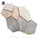 Meshed slate tiles