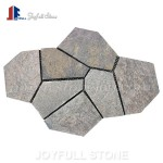 Iregular slate flagstone flooring