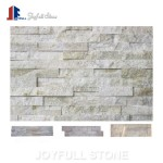 White Slate Stone quartz wall panels