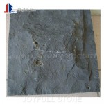 Natural cleft mongolia black basalt