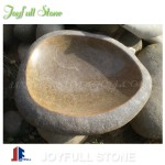 Decorative Stone shallow basin birdbath