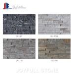 Natural stone Black Quartz Panel Wall Cladding