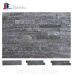 Black Quartz Wall Cladding Stone