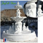 China Hunan White Marble Large Outdoor Fountain
