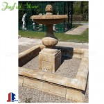 Antique stone marble water fountains