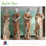 Outdoor garden marble statues for sale