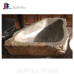 Natural stone sinks for bathroom