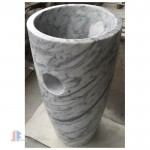 Pedestal stone basin for sale