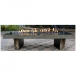 Black basalt fire pits for outdoor garden decoration