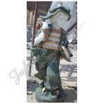 KC-726, Coloured Marble Child Garden Statue