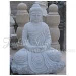 KF-254, Granite Sitting Buddha Statue