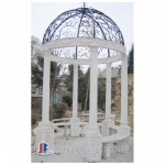 Hand Carved Solid Marble Outdoor Gazebos