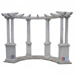 Large outdoor marble gazebo for sale