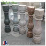 Stone balusters and railings