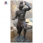 Custom bronze soldier statue bronze sculpture