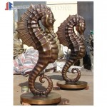 Custom bronze sculptures and carvings