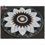 Cultured stone medallion floors slate medallion floor