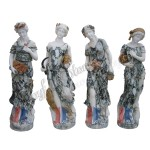 KLB-006, Life Size Garden Statues