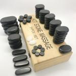 Stone massage kit 54 pieces