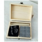 Whisky Chilling stones Stone bar accessories Whisky cubes