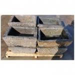 Antique stone troughs old granite troughs