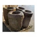 Antique stone mortar granite mortar