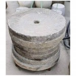 Antique granite millstones old millstones