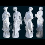 KLB-004, Marble Lady Statue